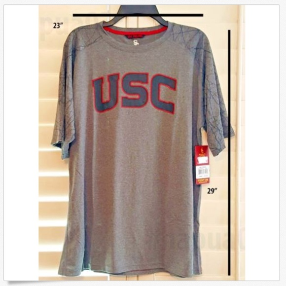 USC Authentic Apparel Other - New USC Trojans Southern California Active T-Shirt